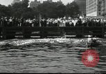 Image of marathon swim New York United States USA, 1930, second 12 stock footage video 65675032155