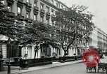 Image of Leinster Gardens facade houses London England United Kingdom, 1930, second 6 stock footage video 65675032160