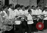 Image of saloon waiters Rome Italy, 1930, second 3 stock footage video 65675032163