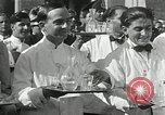 Image of saloon waiters Rome Italy, 1930, second 11 stock footage video 65675032163