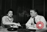 Image of sexual harassment in the workplace United States USA, 1950, second 8 stock footage video 65675032176