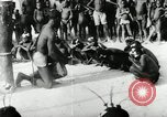 Image of ceremonial dance Africa, 1950, second 3 stock footage video 65675032183