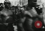 Image of ceremonial dance Africa, 1950, second 6 stock footage video 65675032183