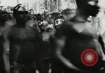 Image of ceremonial dance Africa, 1950, second 7 stock footage video 65675032183