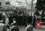Image of unemployed men during great depression Newark New Jersey USA, 1937, second 9 stock footage video 65675032186