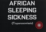 Image of sleeping sickness Congo, 1940, second 2 stock footage video 65675032242