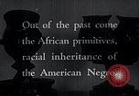 Image of African American art and books New York City USA, 1937, second 7 stock footage video 65675032258