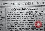 Image of Negro artists New Jersey United States USA, 1937, second 6 stock footage video 65675032266