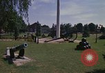 Image of cannons and cannon balls Washington DC USA, 1974, second 2 stock footage video 65675032279