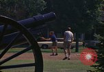 Image of cannons and cannon balls Washington DC USA, 1974, second 10 stock footage video 65675032279
