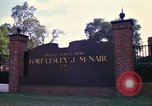 Image of Fort Lesley J McNair Washington DC USA, 1974, second 2 stock footage video 65675032281