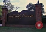 Image of Fort Lesley J McNair Washington DC USA, 1974, second 8 stock footage video 65675032281