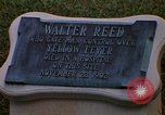 Image of Walter Reed Memorial Plaque Fort Lesley J McNair Washington DC USA, 1974, second 10 stock footage video 65675032282