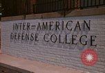 Image of  Inter-American Defense College Fort Lesley J McNair Washington DC USA, 1974, second 5 stock footage video 65675032283