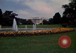 Image of White House in Washington, DC Washington DC USA, 1974, second 8 stock footage video 65675032287