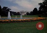 Image of White House in Washington, DC Washington DC USA, 1974, second 10 stock footage video 65675032287
