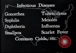 Image of way the disease spreads through US map United States USA, 1922, second 6 stock footage video 65675032294