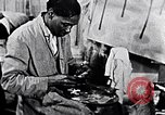 Image of Aaron Douglas painting in a museum New York City USA, 1937, second 8 stock footage video 65675032307