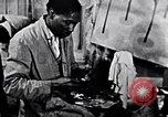 Image of Aaron Douglas painting in a museum New York City USA, 1937, second 9 stock footage video 65675032307