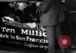 Image of ten millionth Model T Ford Highland Park Michigan USA, 1924, second 9 stock footage video 65675032318
