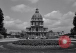 Image of Napoleon's Tomb and the Palace of Versailles Paris France, 1956, second 7 stock footage video 65675032321