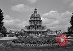 Image of Napoleon's Tomb and the Palace of Versailles Paris France, 1956, second 8 stock footage video 65675032321