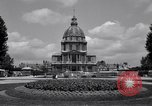 Image of Napoleon's Tomb and the Palace of Versailles Paris France, 1956, second 9 stock footage video 65675032321