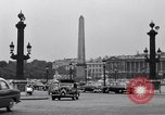 Image of Place de la Concord Art de Métiers open air stamp market Paris France, 1956, second 9 stock footage video 65675032322