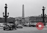 Image of Place de la Concord Art de Métiers open air stamp market Paris France, 1956, second 10 stock footage video 65675032322