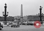 Image of Place de la Concord Art de Métiers open air stamp market Paris France, 1956, second 11 stock footage video 65675032322