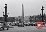 Image of Place de la Concord Art de Métiers open air stamp market Paris France, 1956, second 12 stock footage video 65675032322