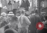 Image of American passengers SS Washington Le Verdon Sur Mer Bordeaux France, 1940, second 1 stock footage video 65675032333