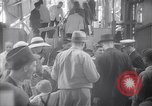 Image of American passengers SS Washington Le Verdon Sur Mer Bordeaux France, 1940, second 3 stock footage video 65675032333