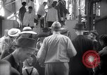 Image of American passengers SS Washington Le Verdon Sur Mer Bordeaux France, 1940, second 6 stock footage video 65675032333
