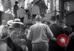 Image of American passengers SS Washington Le Verdon Sur Mer Bordeaux France, 1940, second 7 stock footage video 65675032333
