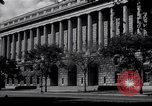 Image of Internal Revenue Service Building Washington DC USA, 1948, second 2 stock footage video 65675032334