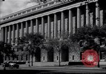 Image of Internal Revenue Service Building Washington DC USA, 1948, second 4 stock footage video 65675032334
