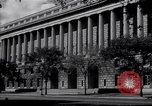 Image of Internal Revenue Service Building Washington DC USA, 1948, second 9 stock footage video 65675032334