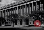 Image of Internal Revenue Service Building Washington DC USA, 1948, second 10 stock footage video 65675032334