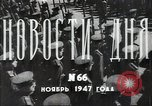 Image of pre-election gathering District Soviet Russia, 1947, second 7 stock footage video 65675032343