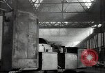 Image of manufacturing plant and farmers Russia, 1947, second 8 stock footage video 65675032346