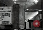 Image of manufacturing plant and farmers Russia, 1947, second 9 stock footage video 65675032346