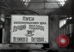 Image of manufacturing plant and farmers Russia, 1947, second 12 stock footage video 65675032346