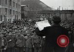 Image of citizens signing letter of appreciation Sofia Bulgaria, 1947, second 8 stock footage video 65675032349