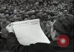 Image of citizens signing letter of appreciation Sofia Bulgaria, 1947, second 11 stock footage video 65675032349
