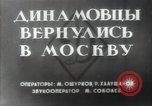 Image of Dynamo Sports Club athletes Moscow Russia Soviet Union, 1956, second 4 stock footage video 65675032360