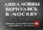 Image of Dynamo Sports Club athletes Moscow Russia Soviet Union, 1956, second 5 stock footage video 65675032360