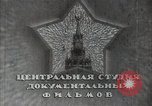 Image of Russian writers in a meeting Soviet Ukraine, 1948, second 2 stock footage video 65675032361