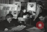 Image of people reading in a library and man lecturing Russia, 1948, second 10 stock footage video 65675032363