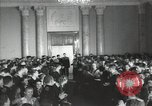 Image of premier of a Russian movie Russia, 1948, second 5 stock footage video 65675032364